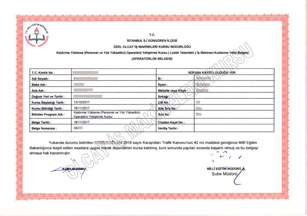 sepetli vinç belgesi, manlift belgesi, manlift ehliyeti, manlift eğitimi, menlift, makaslı platform, personel yükseltici platform, manlift lisansı, sertifika, sertifikası